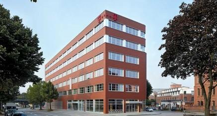 Telekomgebäude in Hamburg